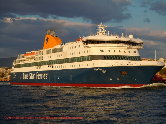 MV BLUE STAR PATMOS 5