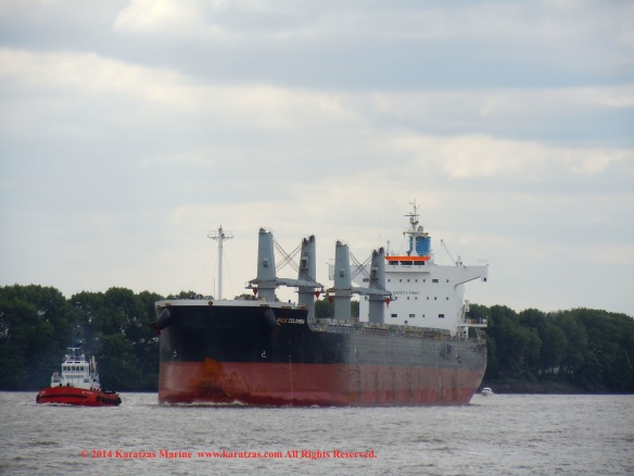MV BULK COLOMBIA 1