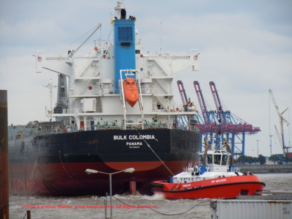MV BULK COLOMBIA 12
