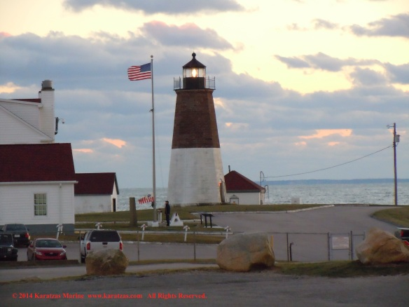 Lighthouse Point Judith 8 JUL2014
