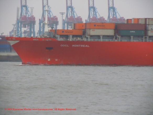 MV OOCL MONTREAL 2