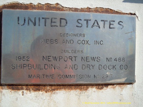 SS United States_Plaque_BMK 8 MAR2014