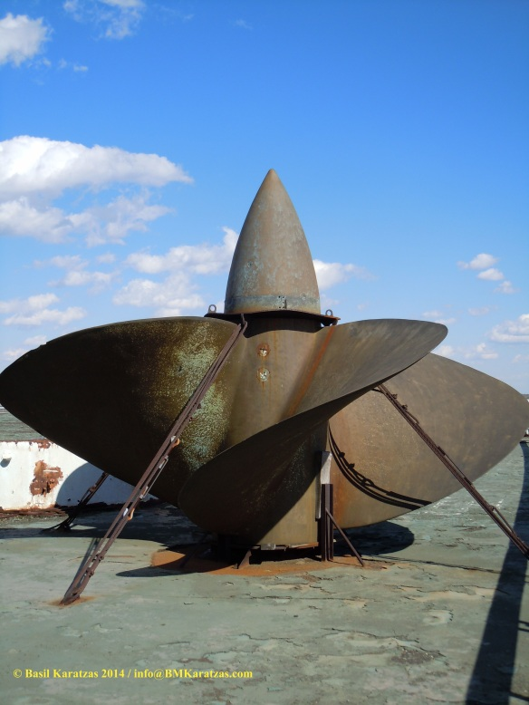 SS United States_spare propeller_BMK 11 MAR2014