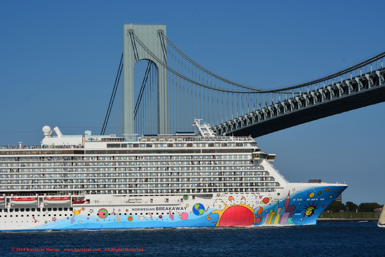 MV NORWEGIAN BREAKAWAY Karatzas Photographie Maritime - Norwegian breakaway cruise ship
