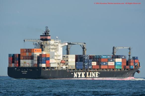 MV NYK CLARA 12