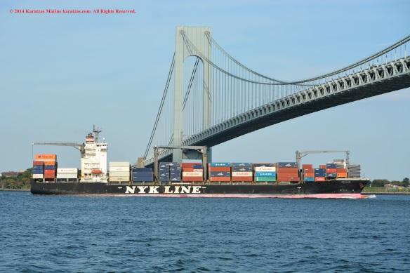 MV NYK CLARA 8
