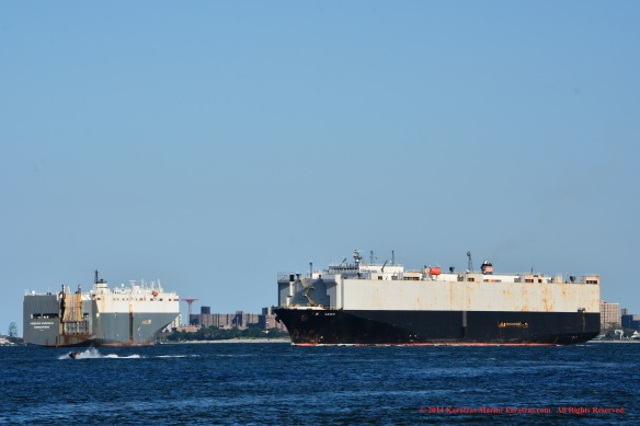 MV HOEGH KUNSAN 11 w: NEW NADA inbound