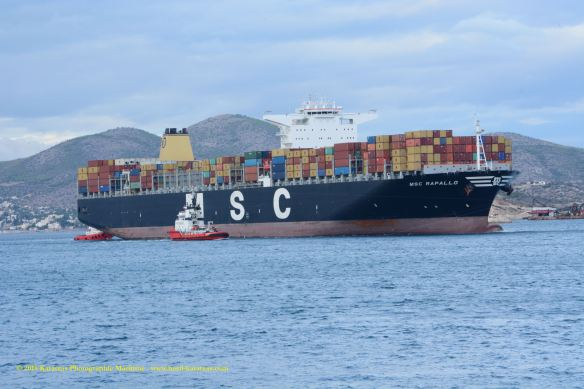MV MSC PARALLO 5