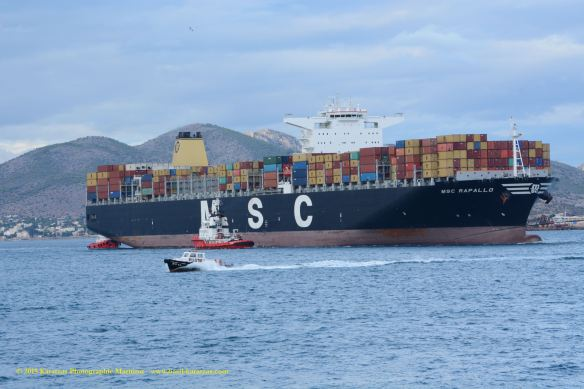 MV MSC PARALLO 6