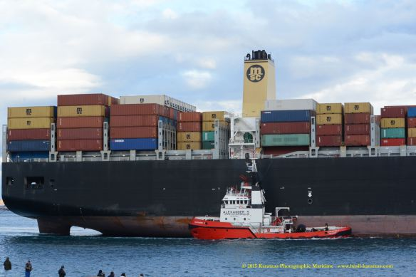 MV MSC PARALLO 8