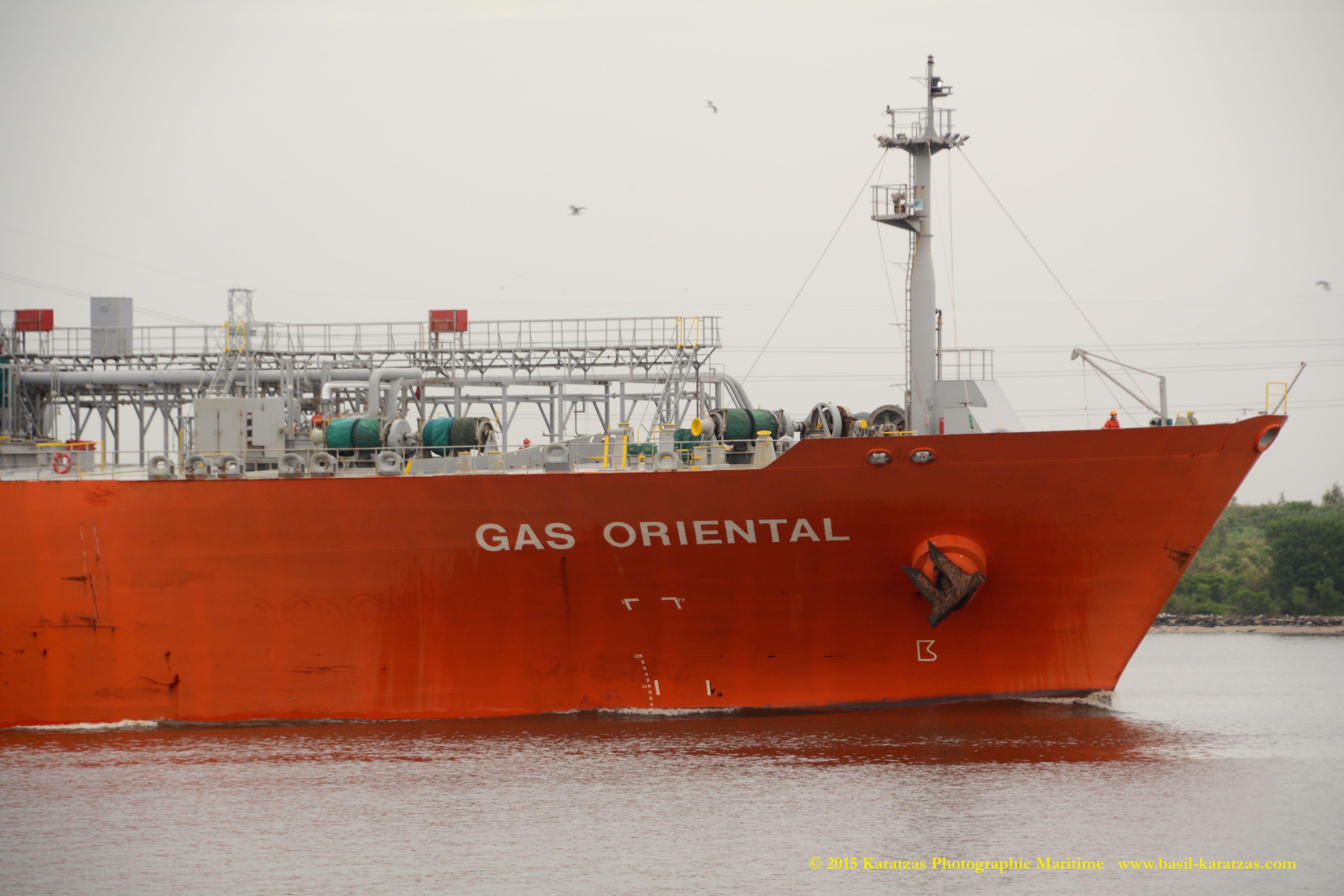 MT 'GAS ORIENTAL' | Karatzas Photographie Maritime