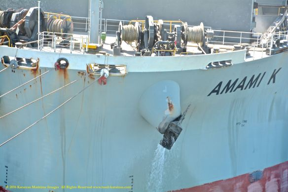 MV AMAMI K 2 BMK_6243_anchor closeup deballasting @