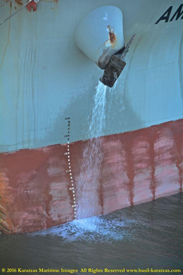 MV AMAMI K 9 BMK_6301 anchor deballasting @